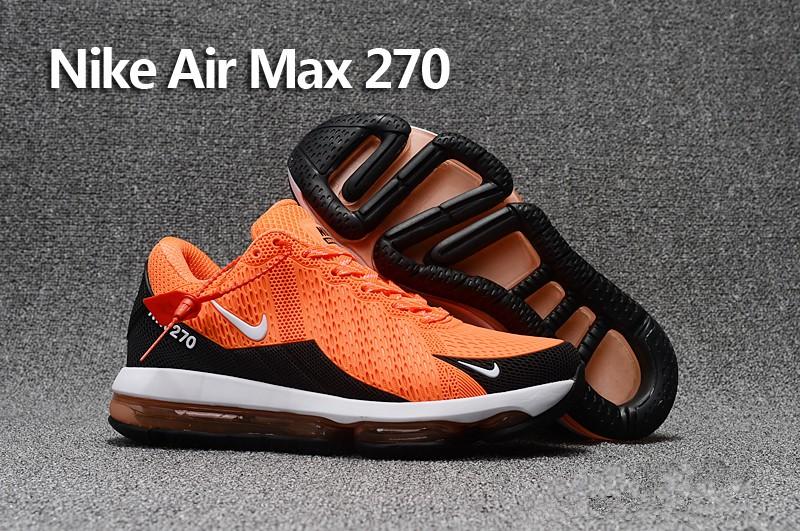 half off 05296 ece76 Nike Air Max 270 arancione