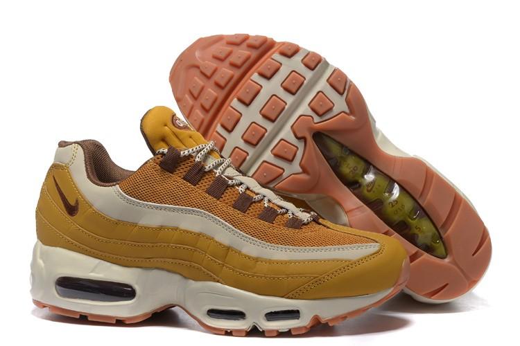 9b869c5458 Mens Nike Air Max 95 Ultra Essential Running Shoes Khaki/Oatmeal ...