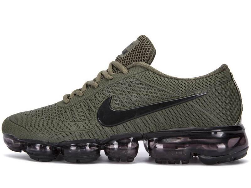 244a16913e Mens Nike Air Vapormax Flyknit KPU Shoes Olibe Green/Army Green/Black
