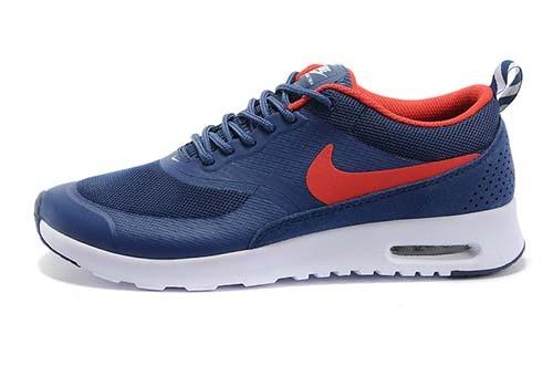 official photos c1f10 e3034 Mens Womens Nike Air Max Thea Print Natural Dark Blue White Running Shoes
