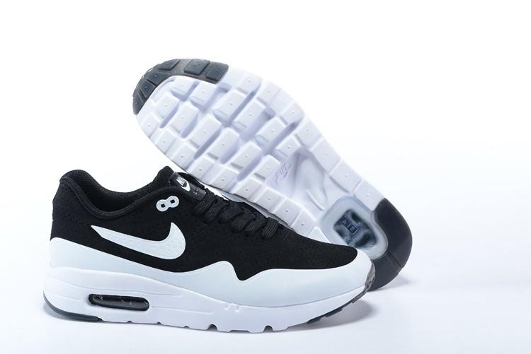 b5d67aa1aefd5 Mens Womens Nike Air Max Zero Ultra Moire CH Shoes Oero Black White 724390