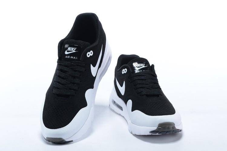 04c4e5fe055a1 ... Mens Womens Nike Air Max Zero Ultra Moire CH Shoes Oero Black White  724390 ...