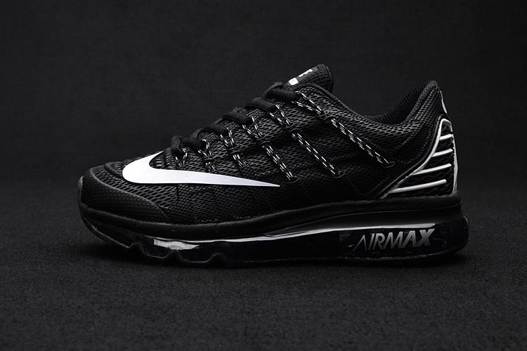 best service a03d9 5a0fc Womens Nike Air Max 2016 KPU Black White Shoes