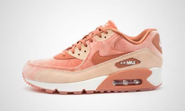 quality design 6e7d4 163ef Womens Nike Air Max 90 LX Dusty Peach Shoes Beige Dusty Peach 898512-201